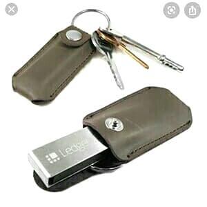Foto Produk Casing flash disk / Nano ledger x bitcoin keychain dari BMK-SHOP