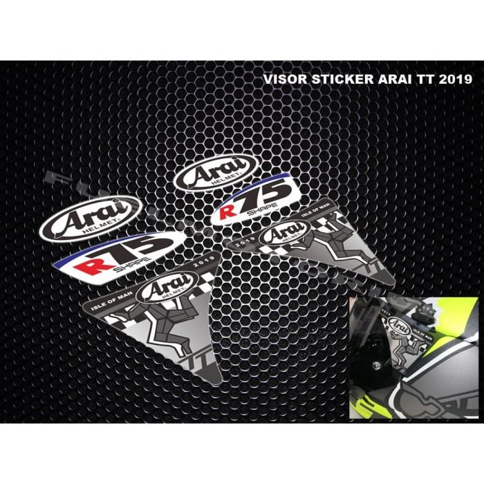 Foto Produk Sticker Visor Helm Arai TT 2019 dari Fuel