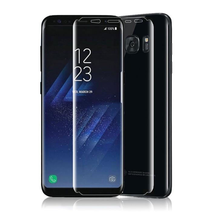 Foto Produk Film Pelindung Layar Anti Ledak Bahan Tpu U Samsung Galaxy S8 Front E- dari Rhi3na Shop