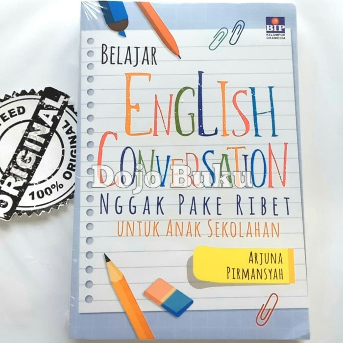 harga Belajar english conversation ngga pake ribet by arjuna firmansyah Tokopedia.com