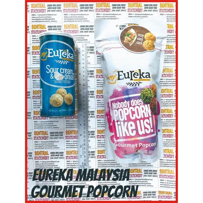 Foto Produk Eureka Gourmet Pop Corn rasa BBQ 170gr Jagung Brondong dari Sentral Stationery