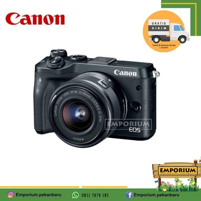 harga Canon eos m6 kit 15-45mm is stm Tokopedia.com