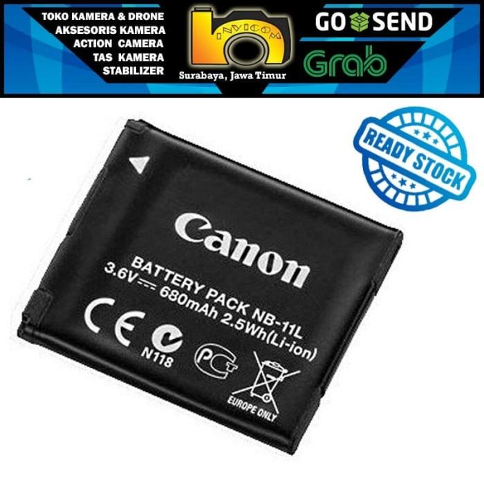 harga Battery / baterai canon nb-11l ~ 3.6 volt 680mah   surabaya Tokopedia.com