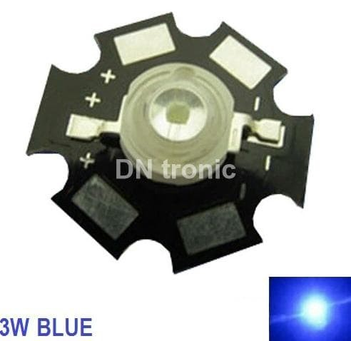 1W Bright Green High Power LED Lamp Beads 70-80Lm 1 Watt 10x
