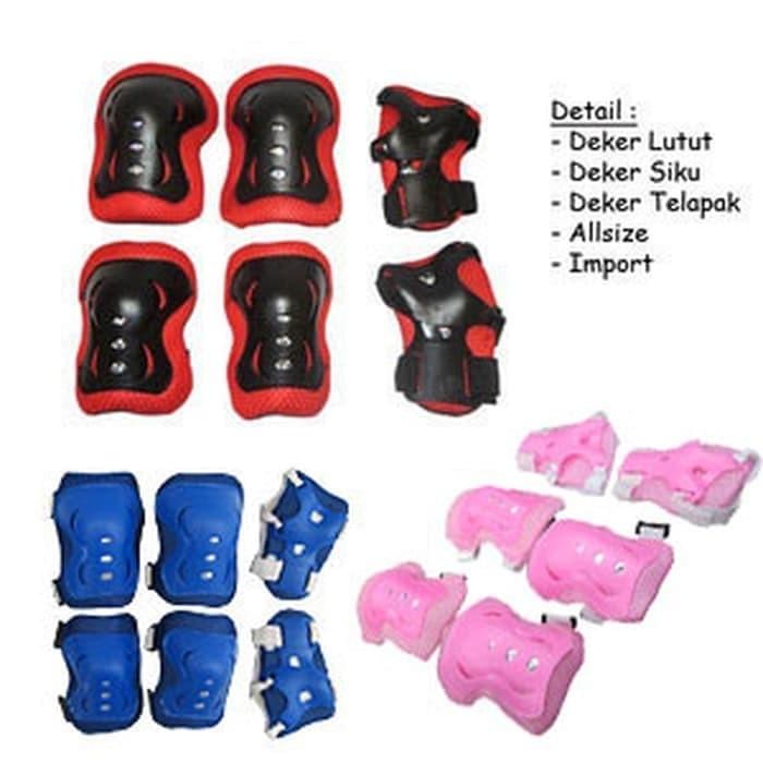 Foto Produk DEKER INLINE Pelindung Lutut Sikut Sepatu Roda Sepeda Olahraga Anak dari Aurumstoree
