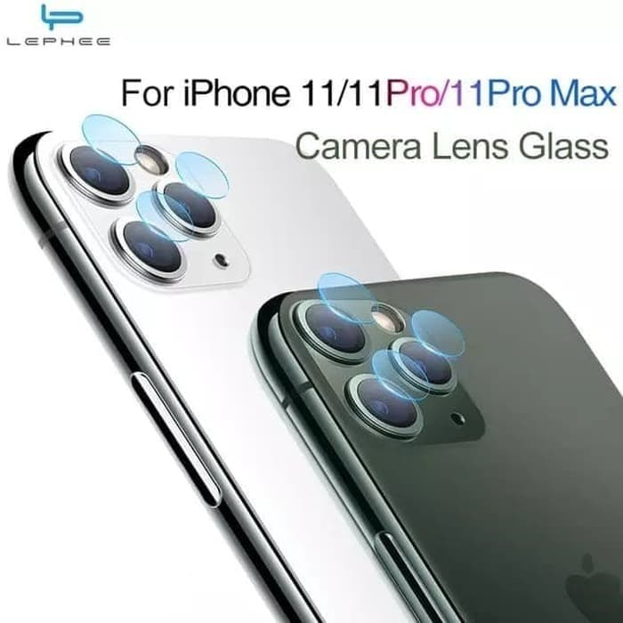 Foto Produk IPHONE 11 / 11 PRO / PRO MAX TEMPERED GLASS CAMERA ANTI GORES KAMERA - 11 PRO MAX dari Urban Story