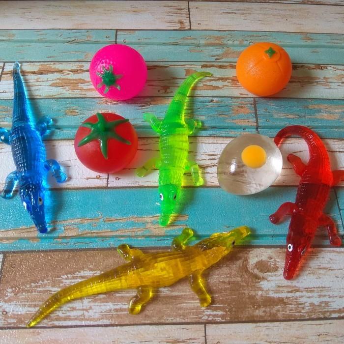 Foto Produk Spalt Toy/Squishy Telor&Strawberry/Anti Stress Ball dari jerseybagus