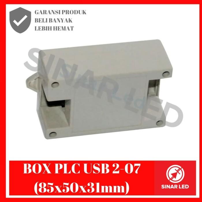 Foto Produk BOX PLC USB 2-07 (85X50X31) dari sinar led