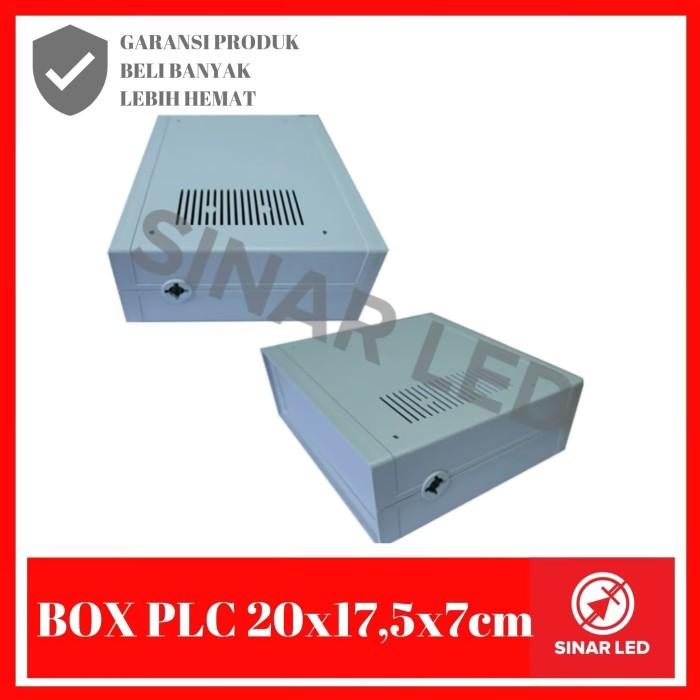 Foto Produk BOX Plastik Custom 20x17,5x7 cm dari sinar led