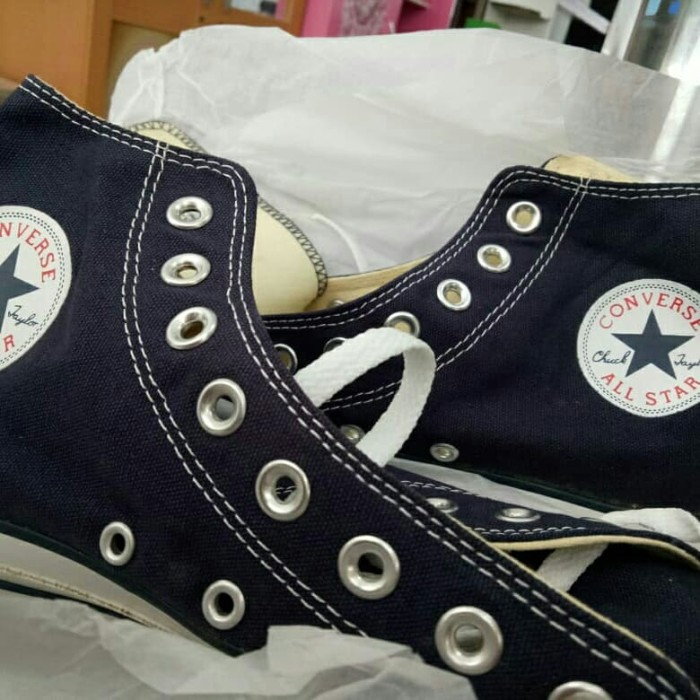 converse high basic navy all star ct