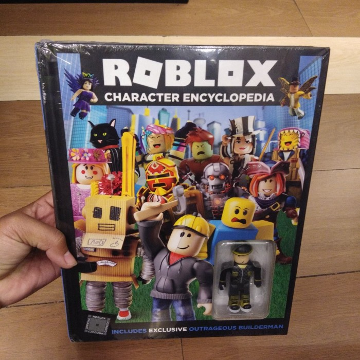 Jual Roblox Character Encyclopedia Kota Tangerang Books Goods