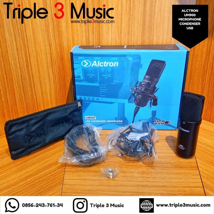 Foto Produk Alctron UM900 UM 900 mic microphone condenser USB for pc android dari triple3music