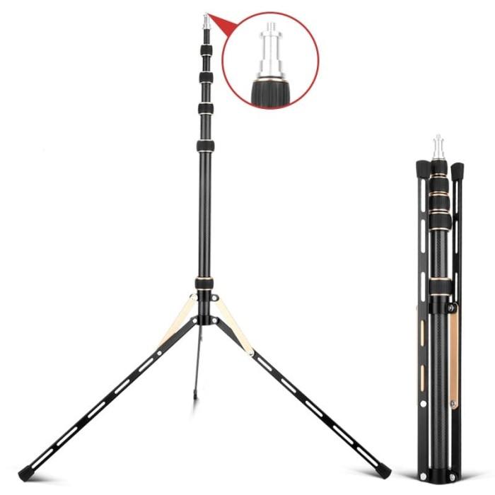 Foto Produk Best Power light Stand/Standlight LS25-5 Tinggi 222cm Fortable Compact dari Grosir Aksesoris Kamera