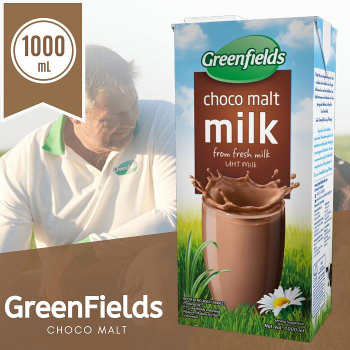 Foto Produk Greenfields Choco Malt 1000 mL - 1 Liter dari DeGeia