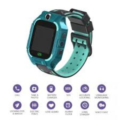 Foto Produk Toleda Smartwatch Anak New Series Waterproof IPX7 Tahan Air - Blackgreen dari Toleda Indonesia