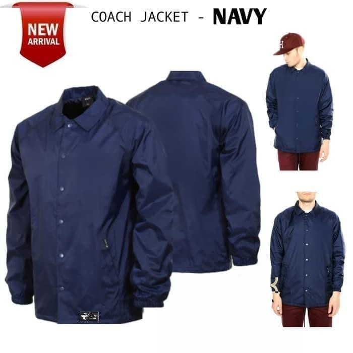 Jual Limited Edition Jaket Hardcore Coach Polos Premium Polos Navy M Jakarta Barat Super Jos1 Tokopedia