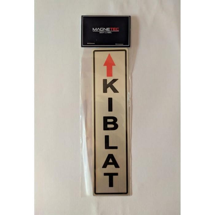 """Foto Produk MAGNETEC Sign Label Sticker """"Kiblat"""" dari officemart"""