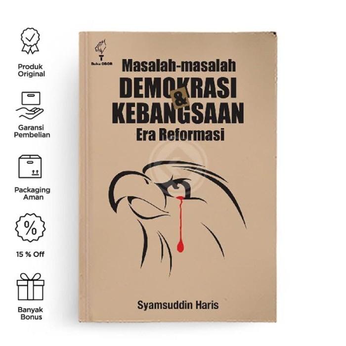 Foto Produk Masalah Masalah Demokrasi dan Kebangsaan Era Reformasi dari Berdikari Book