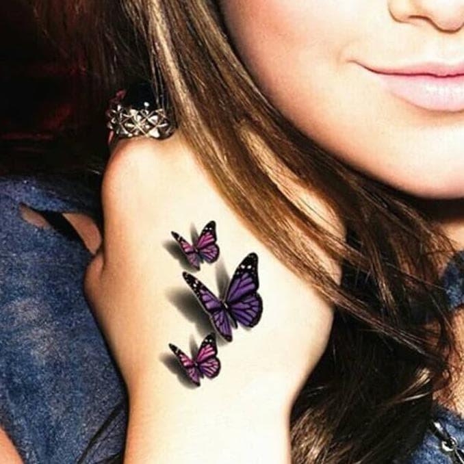 Jual 3d Temporary Tattoo Body Art 3d Butterfly Tattoo Tato Kupu Kupu Jakarta Barat Pita Shop01 Tokopedia