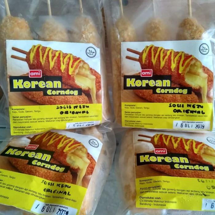 Jual Corndog Mozzarella Sosis Ami Isi 3pcs Kota Bandung