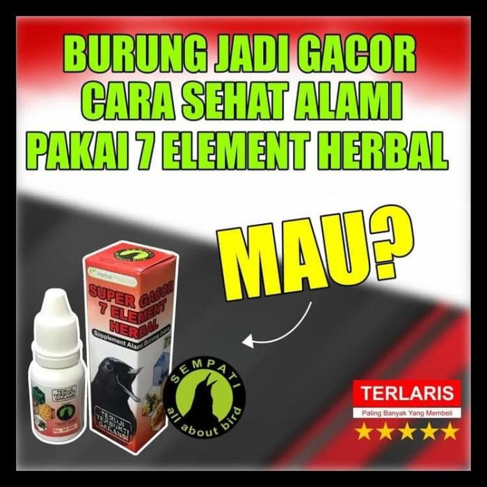 Jual Super Gacor Sempati Vitamin Jamu Herbal Alami Burung Murai Kacer Dll Jakarta Barat Macella 7 Tokopedia