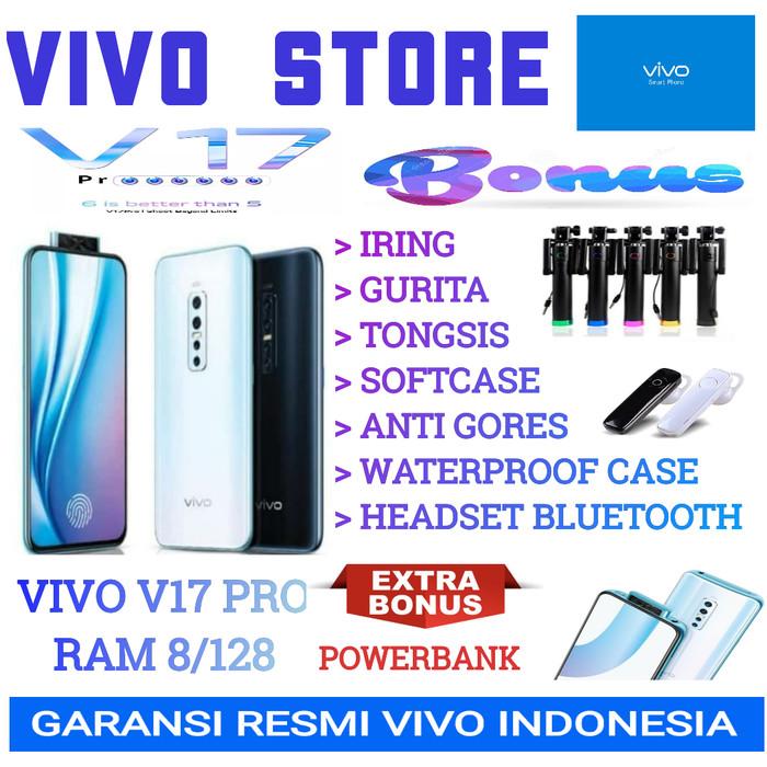 Foto Produk VIVO V17 PRO RAM 8/128 GARANSI RESMI VIVO INDONESIA - hitam no bonus dari VIVO ST0RE