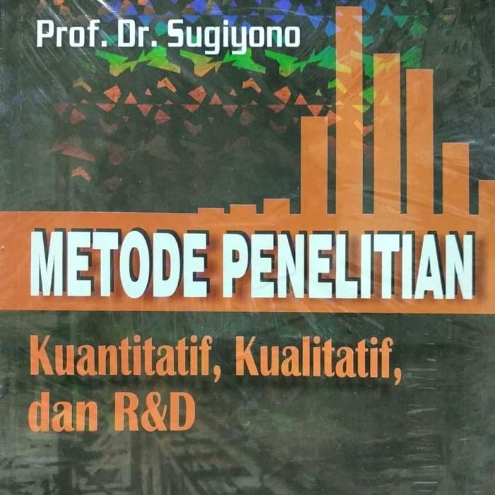 harga Metode penelitian kuantitatif kualitatif dan r&d prof. dr. sugiyono Tokopedia.com