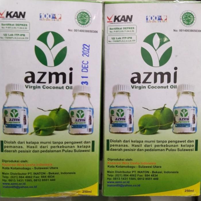 Foto Produk Minyak Kelapa VCO Azmi 250ML dari RM moslem store