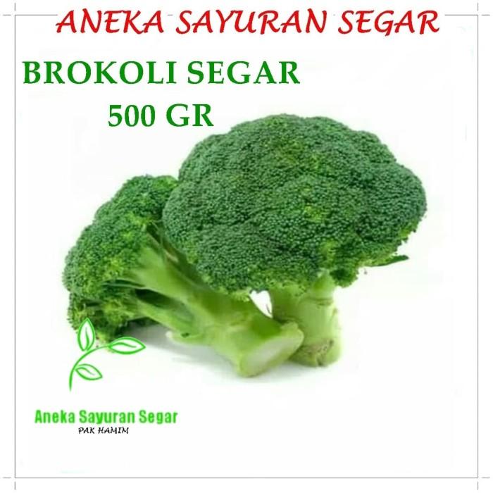 Jual Sayuran Brokoli 500gr Aneka Sayuran Segar Jakarta Utara Aneka Sayuran Segar Tokopedia