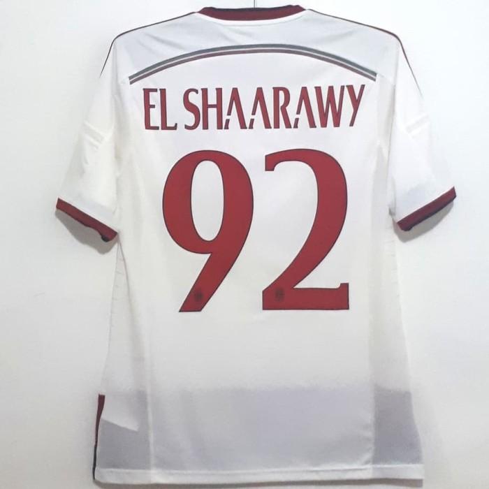 harga Jersey ac milan original 2014-2015 away elshaarawy bnwt Tokopedia.com