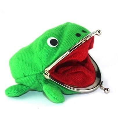 Foto Produk Dompet koin kain anime uzumaki naruto katak kodok warna hijau dari Wildcard