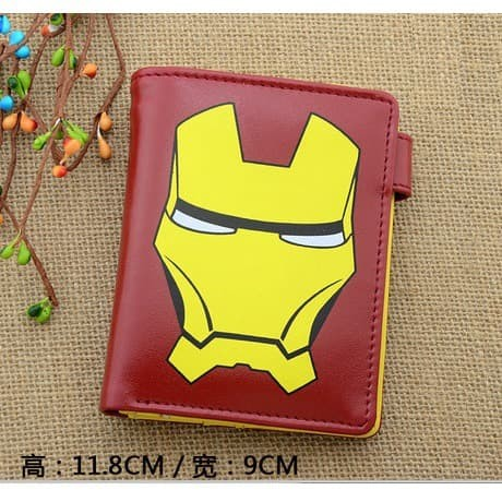 Foto Produk Dompet lipat movie marvel avengers iron man merah kuning dari Wildcard