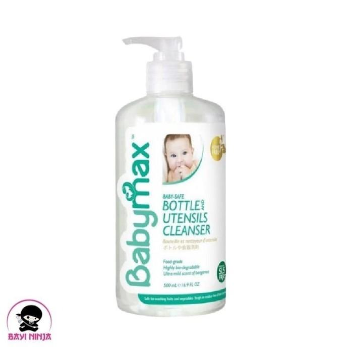 Foto Produk BABYMAX Baby Safe Bottle and Utensils Cleanser Pump 500 ml dari BAYININJA
