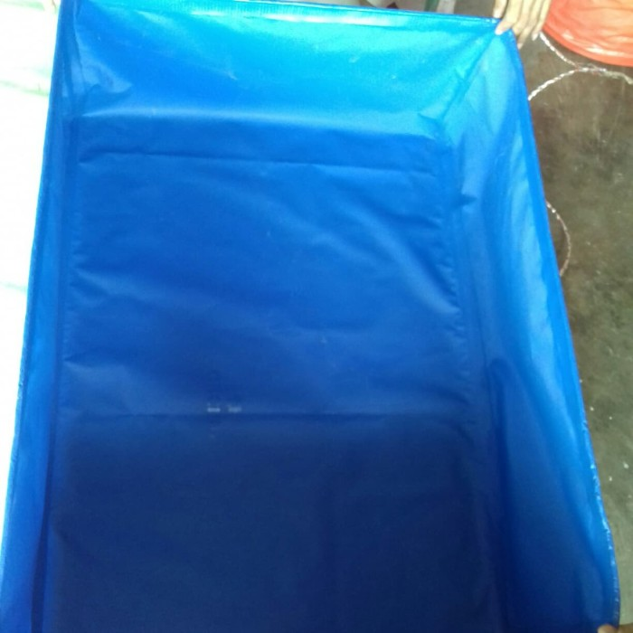Foto Produk kolam terpal kotak ukuran. P. 2m x L.1m x T.0.5. orchid. dari iqbal jaya tenda