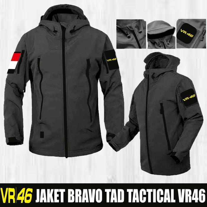 Jaket bravo tad/jaket motor/jaket gunung/jaket hodie/jaket rossi vr46