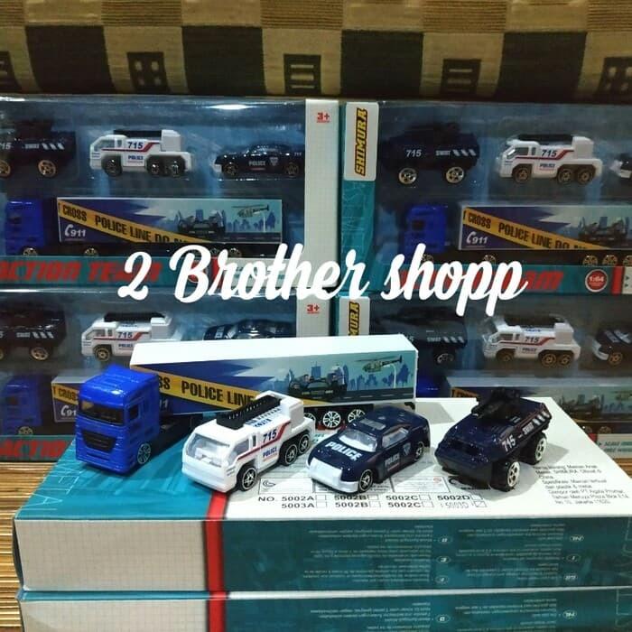 Foto Produk DIECAST TRUCK-MINIATUR TRUCK-TRUCK TRAILER- TRUK TOING-MAINAN TRUK-NEW dari 2 brother shopp