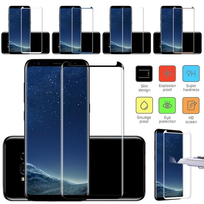 "Foto Produk Tempered Glass Pelindung Layar 3D U Samsung Galaxy S8 & ""Gy"" dari Rhi3na Shop"