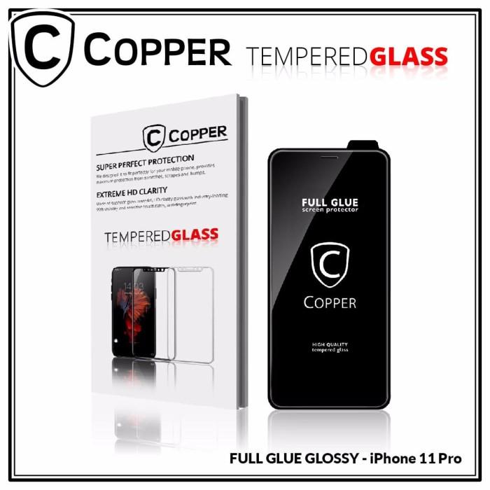 Foto Produk Iphone 11 Pro - COPPER Tempered Glass FULL GLUE PREMIUM GLOSSY dari Copper Indonesia