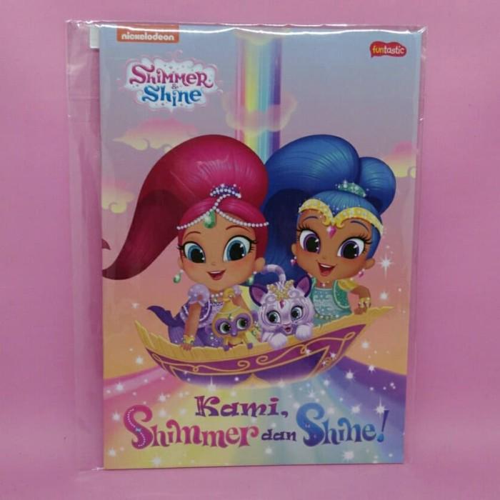 Jual Shimmer Shine Kami Shimmer Dan Shine By Nickelodeon Kota Salatiga Berjaya Bookstore Tokopedia