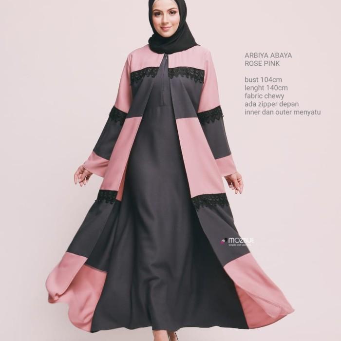 Foto Produk gamis - Merah Muda dari tutik collection07