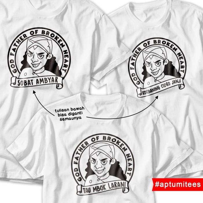 Jual Kaos T Shirt Didi Kempot Kartun Ambyar Putih Kota Surakarta