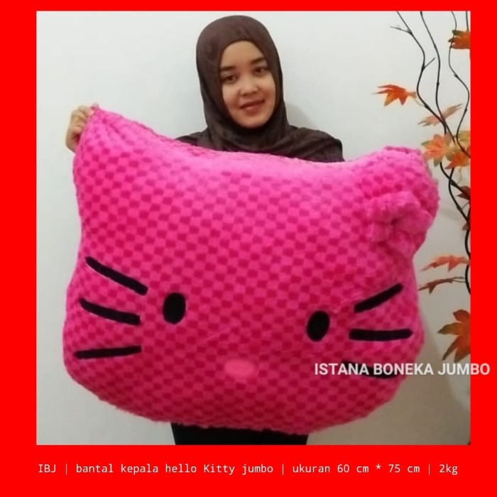 harga Boneka bantal hello kitty jumbo Tokopedia.com