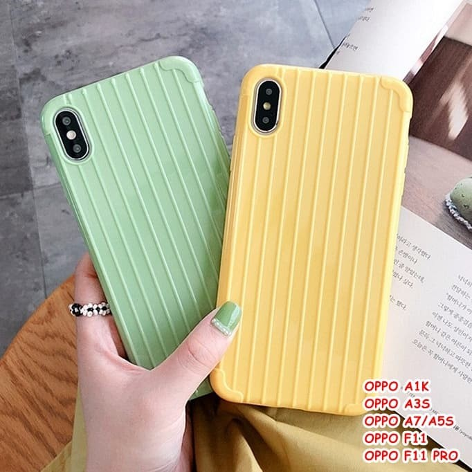 Foto Produk FOR OPPO A1K, A3S, A7/A5S, F11, F11 PRO - LUGGAGE TRAVEL CASE CASING dari lakucart