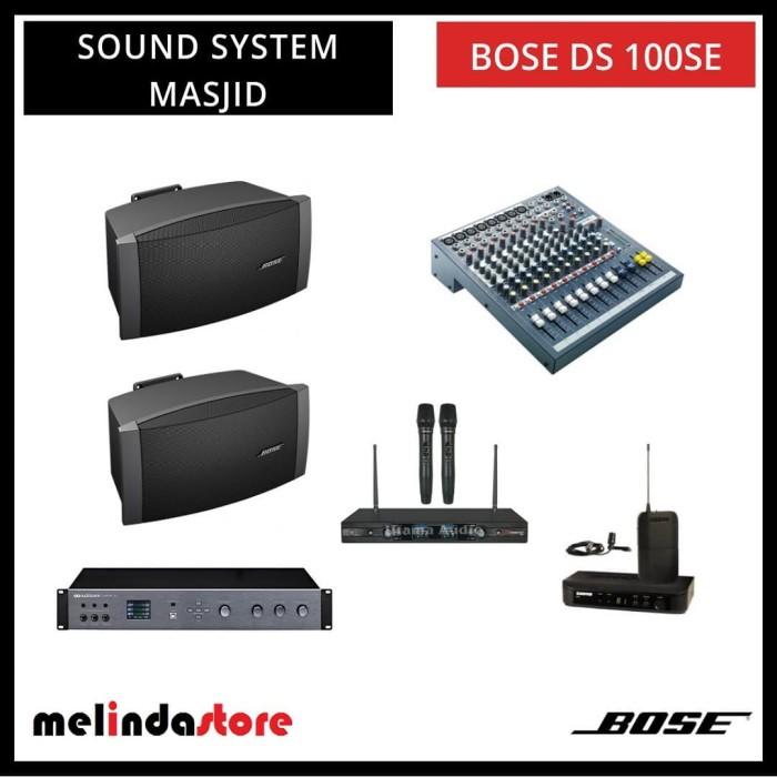 Bose Sound System >> Jual Paket Sound System Masjid Bose Ds 100 Se Kap 100 Orang Jakarta Selatan Melindastore Tokopedia