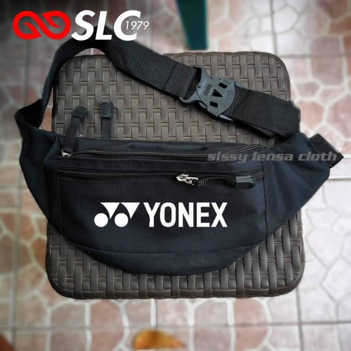 Foto Produk TAS SELEMPANG WAIST BAG YONEX HITAM CUSTOM W6D^ - SLC dari Sissy lensa alfathan