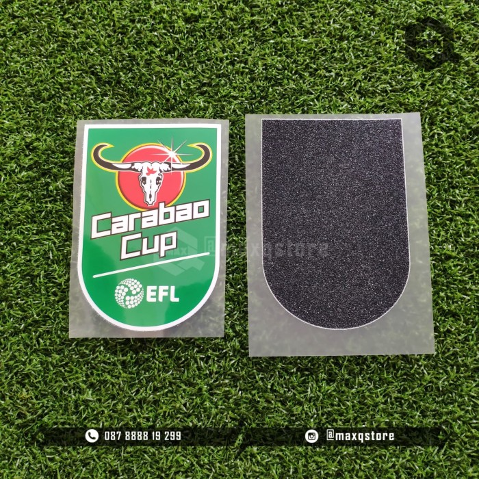 Foto Produk [ PATCH ] 2018 / 19 / 20 EPL CARABAO CUP OFFICIAL PATCH BADGE dari MaxQ