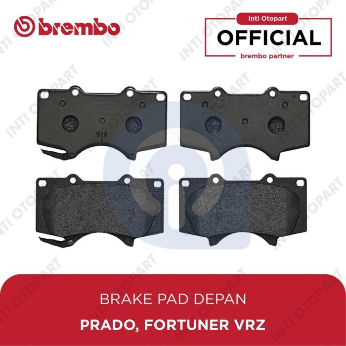 Set of 4 Brembo P83066 Front Disc Brake Pad