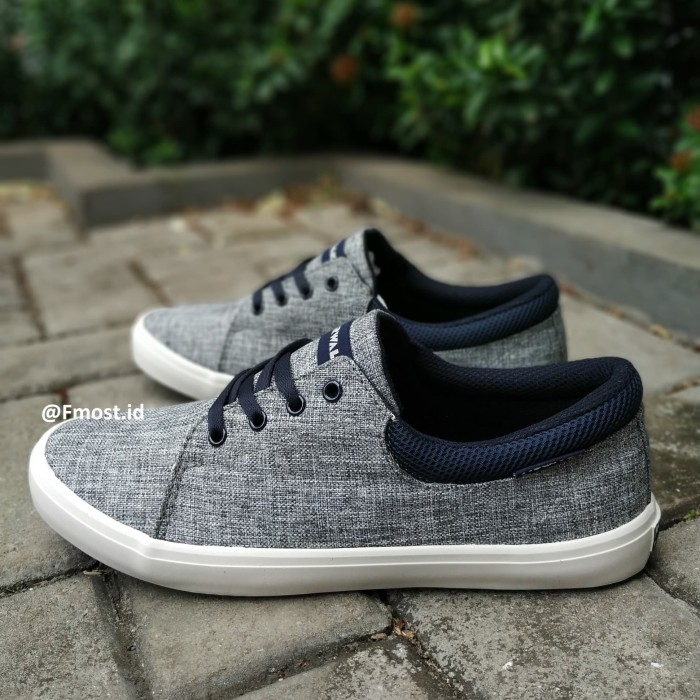 Jual Sepatu Airwalk Grose Denim Jeans Light Grey Sneakers Casual