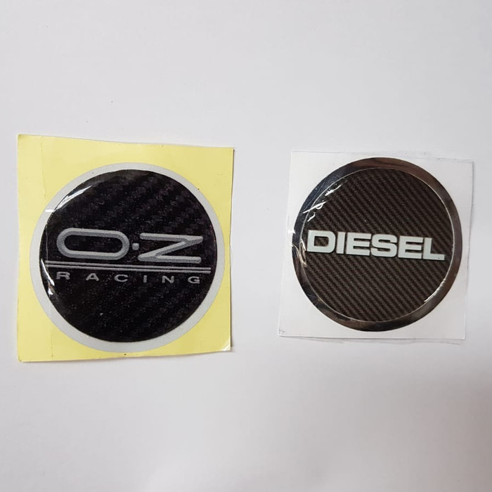 harga Sticker stiker lapisan tutup dop velg mobil logo diesel / oz racing Tokopedia.com