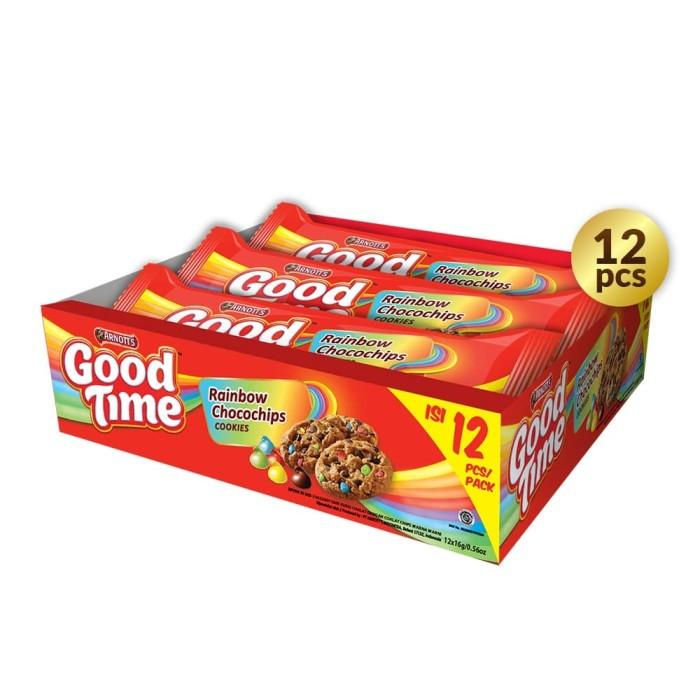 Foto Produk Good Time Cookies Rainbow Singles - PACK (12 Pcs) dari Arnott's Store